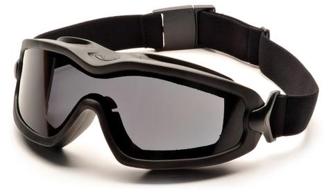 Очки баллистические тактические Pyramex V2G-Plus GB6420SDT Anti-fog Diopter маска серые 23%