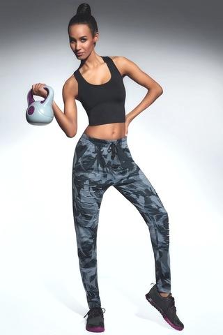 Камуфляжные легинсы брюки для спорта Yank
