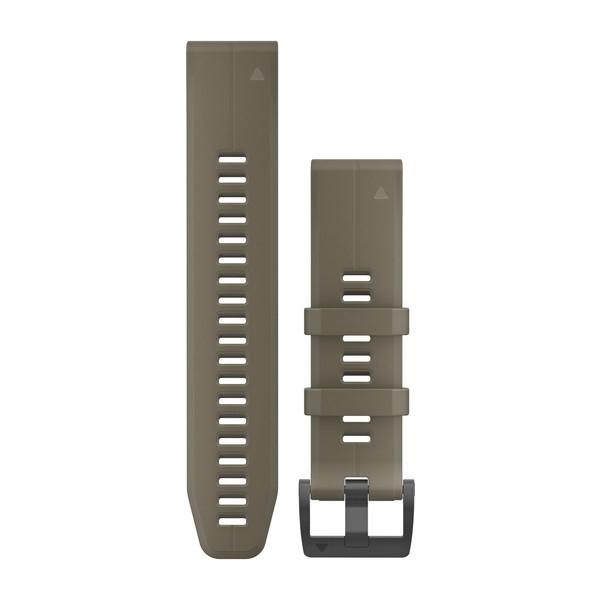 Силиконовый ремешок Garmin QuickFit 22 мм светло-коричневый