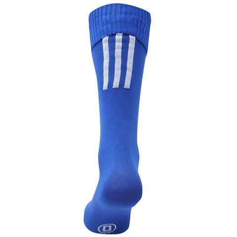 купить Гетры для становой тяги Adidas Santos синие вид сзади