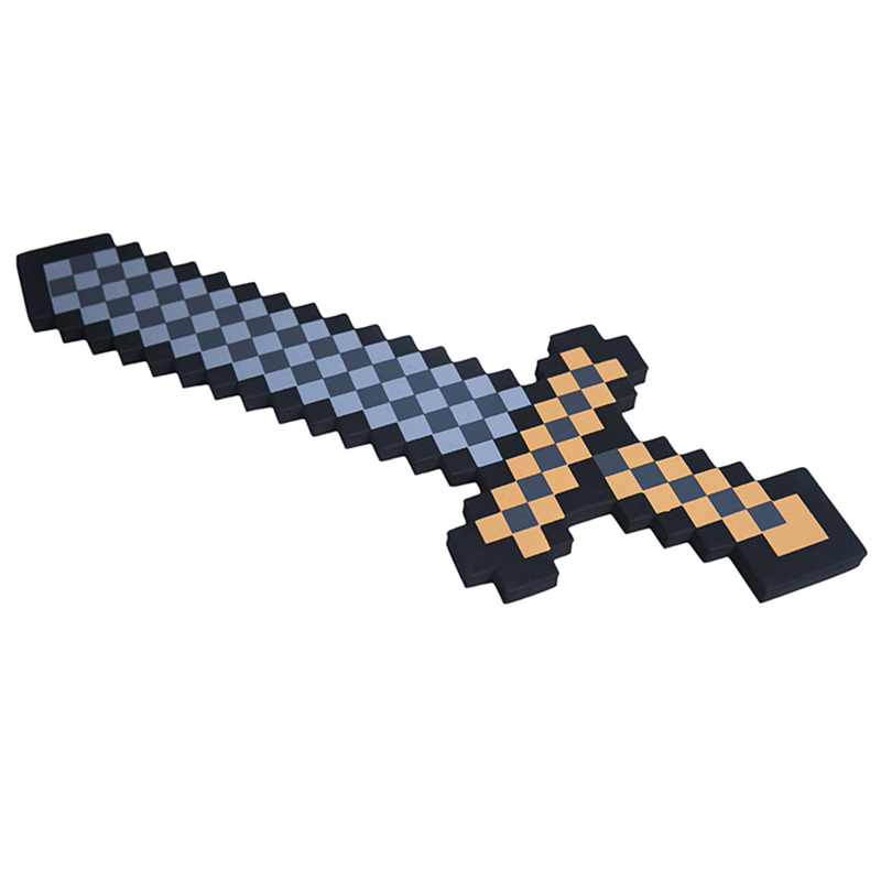 Коричневый меч Майнкрафт (Minecraft) серия 2 45 см