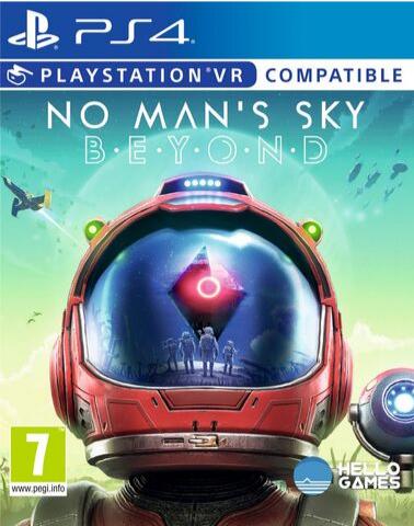 PS4 No Man's Sky. Beyond (поддержка VR, русская версия)