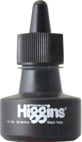 Пигментные чернила HIGGINS BLACK INDIA 1 OZ, 29,6 мл