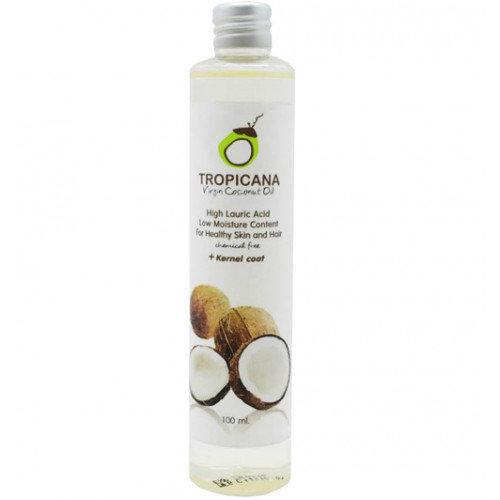 Tropicana Кокосовое масло Тропикана Virgin Coconut Oil, 100 мл