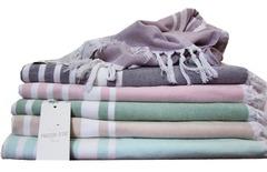 Полотенце PESTEMAL - ПЕШТЕМАЛЬ для сауны, спа, бассейна 100х200 Maison Dor (Турция)