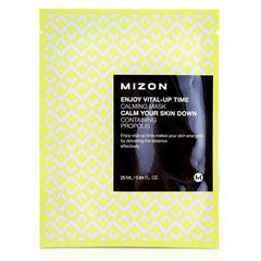 Mizon Enjoy Vital Up Time Calming Mask - Успокаивающая тканевая маска для лица