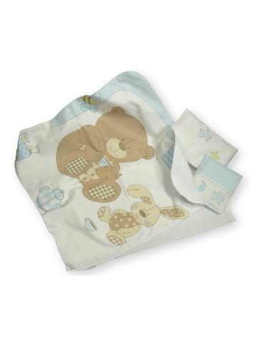 Постель - Медведь. Одежда для кукол, пупсов и мягких игрушек.