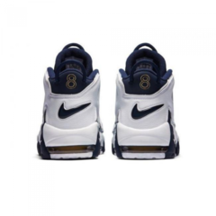 Мужские Nike Air More Uptempo White/Mid Night Navy