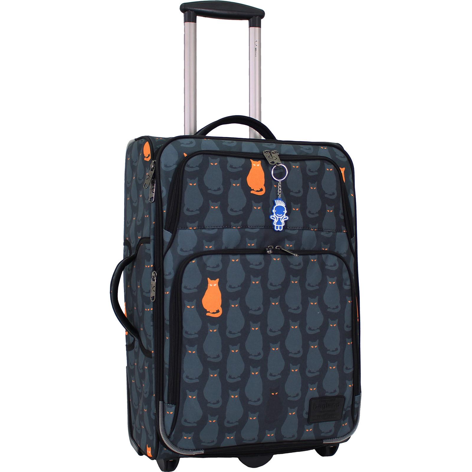 Дорожные чемоданы Чемодан Bagland Леон средний дизайн 51 л. сублімація 193 (0037666244) IMG_1721.JPG
