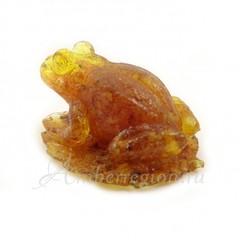 Янтарная лягушка