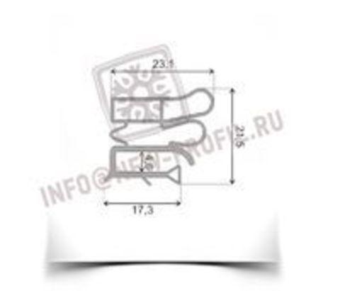 Уплотнитель 74*56 см для холодильника  Pozis (Позис) Мир 121-2 (морозильная камера) Профиль 012