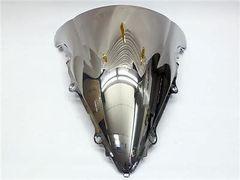 Ветровое стекло для мотоцикла Yamaha YZF-R6 03-05 DoubleBubble Хром