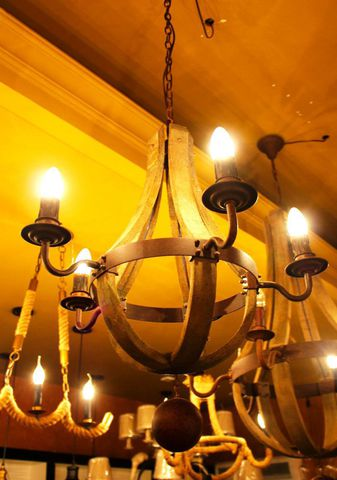 vintage chandelier 50-53 ( by Funky Vintage )