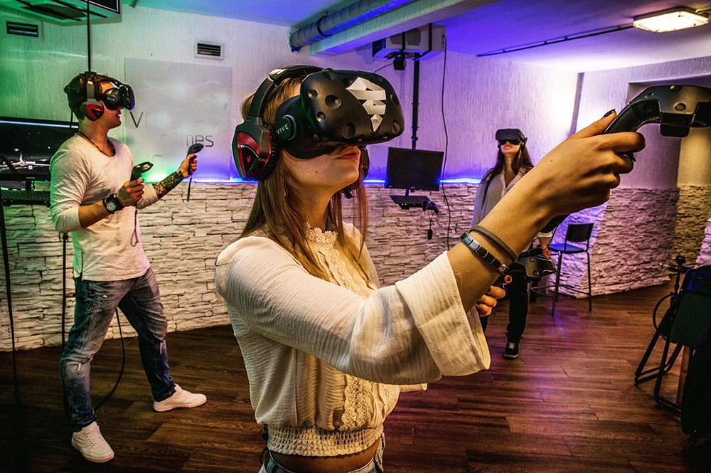 Клуб виртуальной реальности под ключ