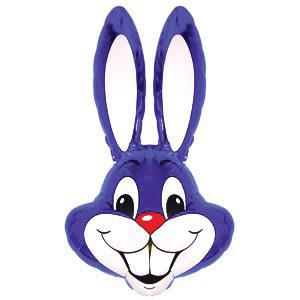 Голова Кролика фиолетовая