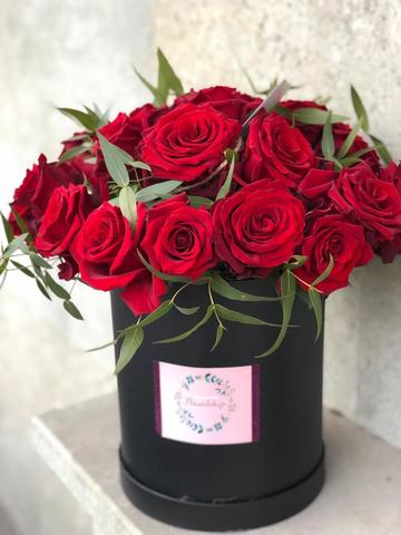 buy flowers in a box online in Tbilisi