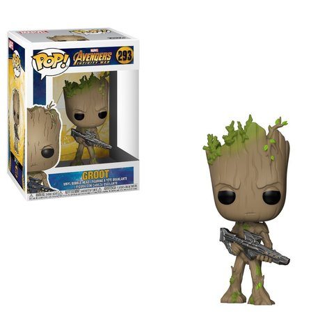 Groot. <b>Avengers Infinity War</b> Funko Pop! <b>Marvel</b> Vinyl Figure || Грут ...