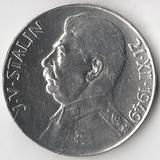 K9518 1949 Чехословакия 50 крон 70 лет со дня рождения Сталина Ag-500