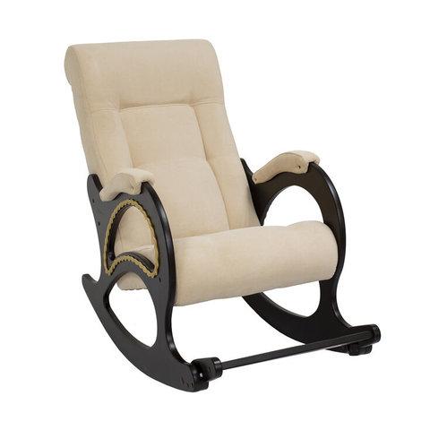 Кресло-качалка Комфорт Модель 44 венге/Verona Vanilla, 013.044
