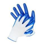 Перчатки нейлоновые  с нитриловым покрытием Стандарт (р.10) (1 мешок - 960 пар/ упак 12 пар)