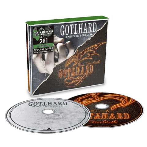 Gotthard ‎/ Need To Believe + Firebirth (2CD)