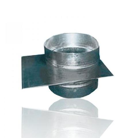 Шибер D 125 оцинкованная сталь