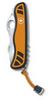 Нож Victorinox Hunter XS, 111 мм, 5 функций, с фиксатором лезвия, желтый