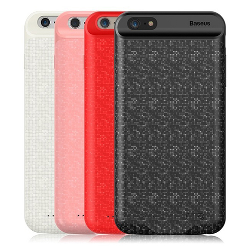 Чехол-аккумулятор для iPhone 6/6S Baseus Plaid Power Bank Case 2500mAh