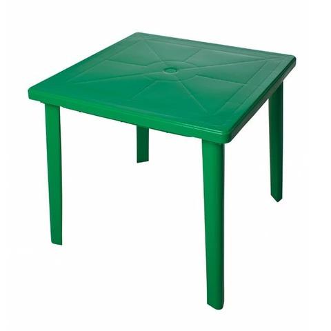 Стол квадратный. Цвет: Зеленый