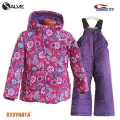 Комплект для девочки зима Salve 3163 bright rose