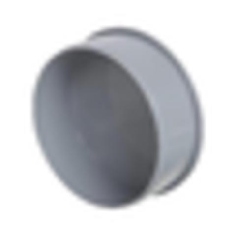 Заглушка PP-H серая Дн 50 б/нап VALFEX 20108050