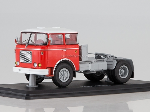 Skoda LIAZ 706 MTTN road tractor red-white 1:43 Start Scale Models (SSM)