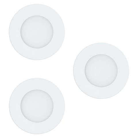 Комплект светильников светодиодных встраиваемых с регулировкой температуры света Eglo FUEVA-RW 97111