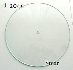 Часы диаметр 20см, стекло