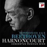 Nikolaus Harnoncourt / Beethoven Symphonies 4 & 5 (2LP)
