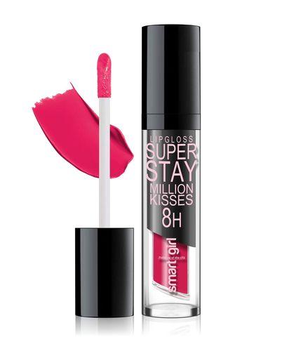 Супер стойкий блеск для губ  Smart girl   Million kisses  тон 206