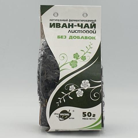 Иван-чай листовой ОБРАЗ ЖИЗНИ, 50 гр