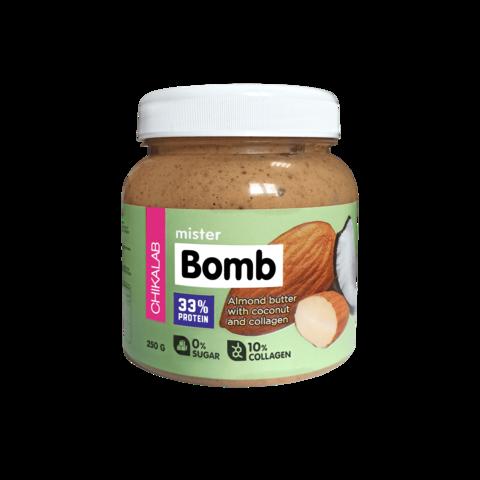 Паста Chikalab Mister Bomb Миндальная с кокосом, 250гр