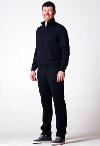 Костюм спортивный Nordski Base Zip Black мужской