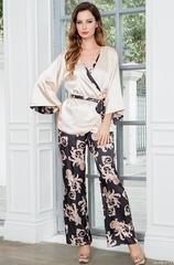 Комплект женский из 3х предметов  с брюками  Mia-Amore   VERSACHI GOLD 9936