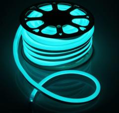 Гибкий неон 15x25 мм, светодиодный | RGB - 25м