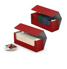 Ultimate Guard - Коробочка кожаная красная для хранения 400+ карт