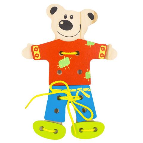 Шнуровка Alatoys Медведь ШМ01