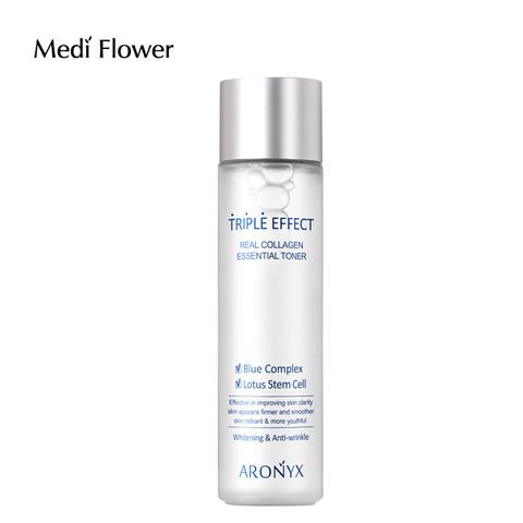 Medi flower Aronyx Triple effect Toner Тройной эффект Тоник с морским коллагеном 150 мл