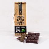 Шоколад Алкион темный с листьями мяты