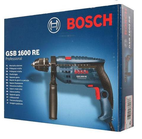 Дрель ударная BOSCH GSB 1600 RE(БЗП)