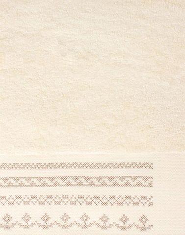 Полотенце 50x100 Devilla Орнамент экрю