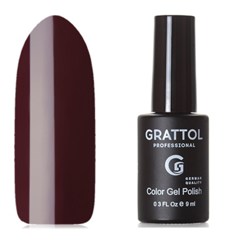Grattol, Гель-лак Classic Collection №100, Merlot 53675