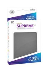 Ultimate Guard - Темно-серые матовые протекторы 80 штук в коробочке