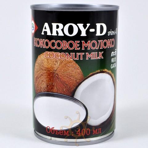 Молоко кокосовое Aroy-D в ж/б, 400 мл